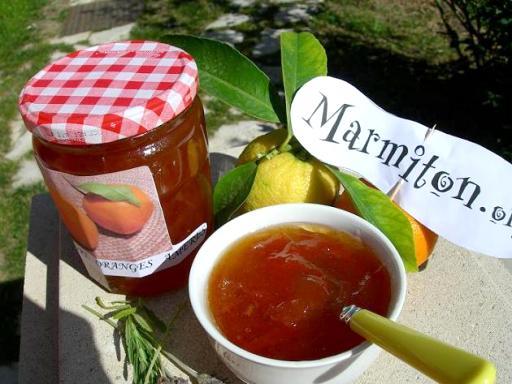 Marmelade oranges amères